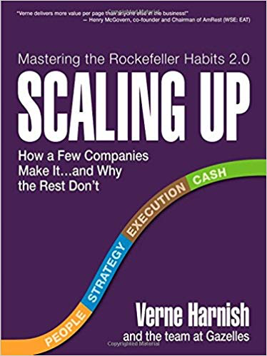 Scaling Up: How a Few Companies Make It...and Why the Rest Don't by Verne Harnish